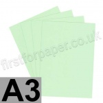 Rapid Colour Card, 160gsm, A3, Tea Green