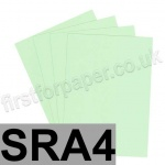 Rapid Colour Card, 160gsm, SRA4, Tea Green