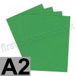 Rapid Colour Card, 160gsm, A2, Woodpecker Green