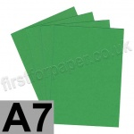 Rapid Colour Card, 160gsm, A7, Woodpecker Green