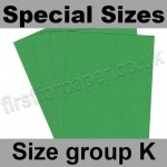 Rapid Colour Card, 160gsm, Special Sizes, (Size Group K), Woodpecker Green