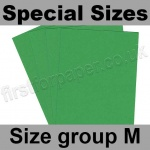 Rapid Colour Card, 160gsm, Special Sizes, (Size Group M), Woodpecker Green