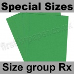 Rapid Colour Card, 160gsm, Special Sizes, (Size Group Rx), Woodpecker Green