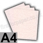 Regal Traditional Parchment, 176gsm, A4, Pink - 10 Sheets