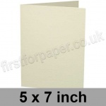 Advocate Smooth, Pre-creased, Single Fold Cards, 250gsm, 127 x 178mm (5 x 7 inch), Natural White