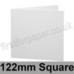 Brampton Felt Marked, Pre-Creased, Single Fold Cards, 280gsm, 122mm Square, Extra White