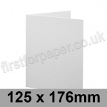 Brampton Felt Marked, Pre-Creased, Single Fold Cards, 280gsm, 125 x 176mm, Extra White