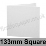 Brampton Felt Marked, Pre-Creased, Single Fold Cards, 280gsm, 133mm Square, Extra White