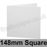 Brampton Felt Marked, Pre-Creased, Single Fold Cards, 280gsm, 148mm Square, Extra White