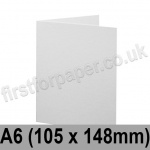 Brampton Felt Marked, Pre-Creased, Single Fold Cards, 280gsm, 105 x 148mm (A6), Extra White