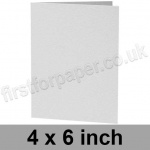 Enstone, Hammer Embossed, Pre-creased, Single Fold Cards, 280gsm, 102 x 152mm (4 x 6 inch), Bright White
