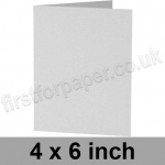 Enstone, Hide Embossed, Pre-creased, Single Fold Cards, 280gsm, 102 x 152mm (4 x 6 inch), Bright White