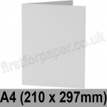 Enstone, Hide Embossed, Pre-creased, Single Fold Cards, 280gsm, 210 x 297mm (A4), Bright White