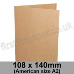 Kreative Kraft, Pre-creased, Single Fold Cards, 225gsm, 108 x 140mm (American A2)