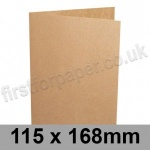 Kreative Kraft, Pre-creased, Single Fold Cards, 225gsm, 115 x 168mm
