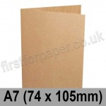 Kreative Kraft, Pre-creased, Single Fold Cards, 225gsm, 74 x 105mm (A7)