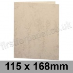 Marlmarque, Pre-creased, Single Fold Cards, 300gsm, 115 x 168mm, Olympic Ivory