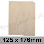 Marlmarque, Pre-creased, Single Fold Cards, 300gsm, 125 x 176mm, Olympic Ivory