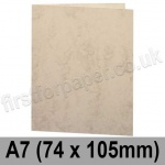 Marlmarque, Pre-creased, Single Fold Cards, 300gsm, 74 x 105mm (A7), Olympic Ivory
