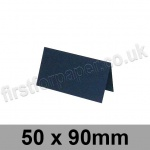 Rapid Colour Card, Pre-creased, Place Cards, 240gsm, 50 x 90mm, Navy Blue
