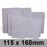 Rapid Colour Card, Pre-creased, Single Fold Cards, 225gsm, 115 x 168mm, Skylark Violet