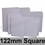 Rapid Colour Card, Pre-creased, Single Fold Cards, 225gsm, 122mm Square, Skylark Violet