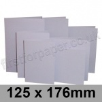 Rapid Colour Card, Pre-creased, Single Fold Cards, 225gsm, 125 x 176mm, Skylark Violet