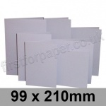 Rapid Colour Card, Pre-creased, Single Fold Cards, 225gsm, 99 x 210mm, Skylark Violet