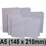 Rapid Colour Card, Pre-creased, Single Fold Cards, 225gsm, 148 x 210mm (A5), Skylark Violet