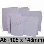 Rapid Colour Card, Pre-creased, Single Fold Cards, 225gsm, 105 x 148mm (A6), Skylark Violet