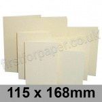 Rapid Colour Card, Pre-creased, Single Fold Cards, 225gsm, 115 x 168mm, Wheatear Yellow