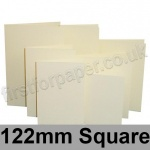 Rapid Colour Card, Pre-creased, Single Fold Cards, 225gsm, 122mm Square, Wheatear Yellow