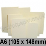 Rapid Colour Card, Pre-creased, Single Fold Cards, 225gsm, 105 x 148mm (A6), Wheatear Yellow