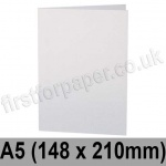Stardream, Pre-creased, Single Fold Cards, 285gsm, 148 x 210mm (A5), Crystal White
