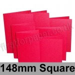Stardream, Pre-creased, Single Fold Cards, 285gsm, 148mm Square, Jupiter