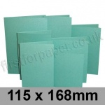 Stardream, Pre-creased, Single Fold Cards, 285gsm, 115 x 168mm, Lagoon