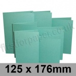 Stardream, Pre-creased, Single Fold Cards, 285gsm, 125 x 176mm, Lagoon