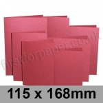 Stardream, Pre-creased, Single Fold Cards, 285gsm, 115 x 168mm, Mars