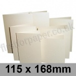 Stardream, Pre-creased, Single Fold Cards, 285gsm, 115 x 168mm, Opal