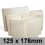Stardream, Pre-creased, Single Fold Cards, 285gsm, 125 x 176mm, Opal