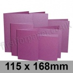 Stardream, Pre-creased, Single Fold Cards, 285gsm, 115 x 168mm, Punch