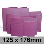 Stardream, Pre-creased, Single Fold Cards, 285gsm, 125 x 176mm, Punch