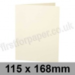 Stardream, Pre-creased, Single Fold Cards, 285gsm, 115 x 168mm, Quartz