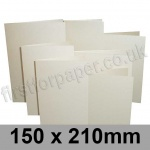 Stardream, Pre-creased, Single Fold Cards, 285gsm, 150 x 210mm, Quartz
