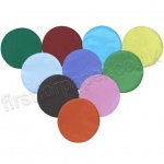 Tissue Circles, 150mm, 480 Assorted Colours