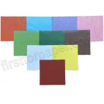 Tissue Squares, 150mm, 480 Assorted Colours