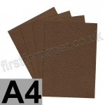 Majestic Pearlescent Card, 290gsm, A4, Medal Bronze - 5 Sheets
