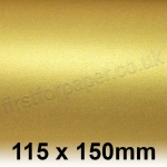 Stardream, 285gsm, 115 x 150mm, Gold - Pack of 50