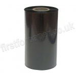 Standard Thermal Transfer, Resin Enhanced Wax Ribbon, 110mm x 300m - Black