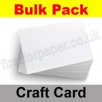 Craft & Hobby, Bulk Card Pack, White, 200gsm, A4, 250 sheets
